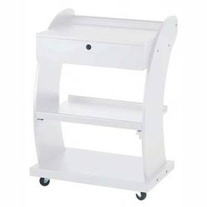 Инструментална дървена козметична количка