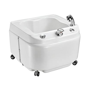 Мобилна педикюрна хидромасажна вана за масаж на крака.