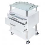 Инструментална козметична количка в изчистен дизайн