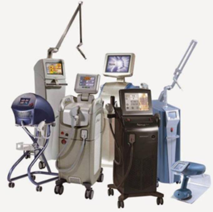 Разнообразие от апарати и козметично оборудване